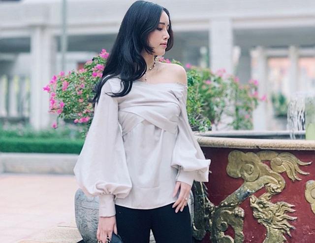 Em gái xinh đẹp, cao gần 1m80 của Hoa hậu Mai Phương Thúy - 6